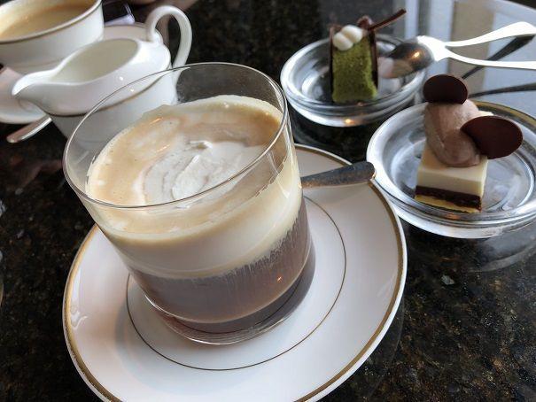 リッツカールトン東京のアイリッシュコーヒー