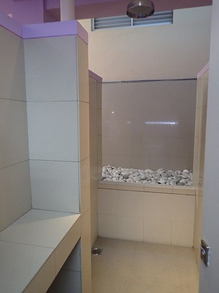 ウォーターボムバリのシャワー