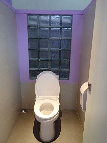 ウォーターボムバリのトイレ