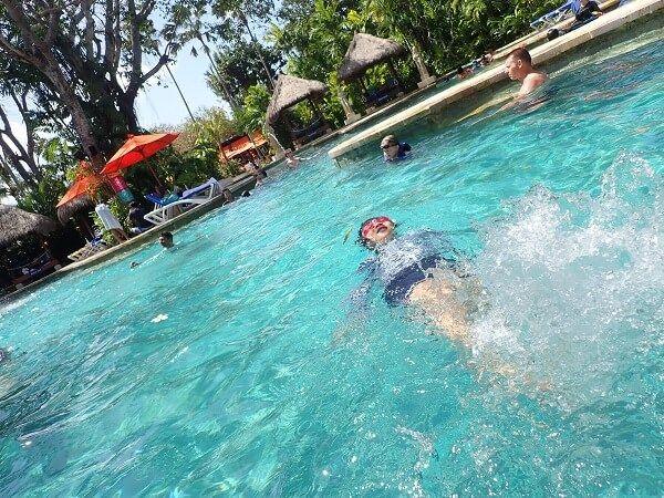 プール写真