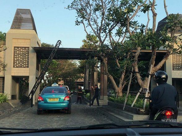 リッツカールトンバリ入口の写真
