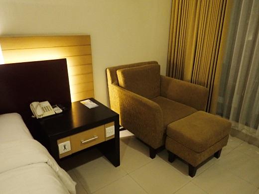 アディジャホテルの部屋