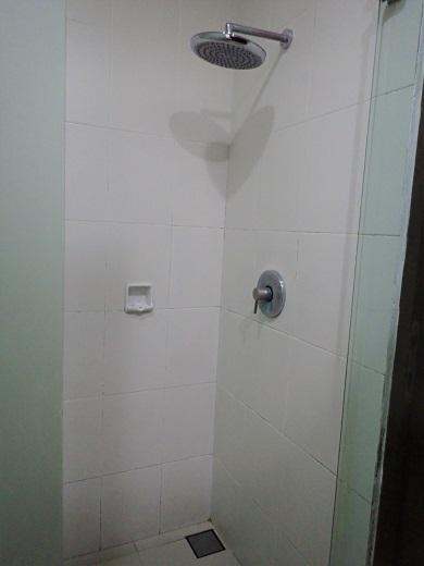 アディジャホテルのシャワールーム