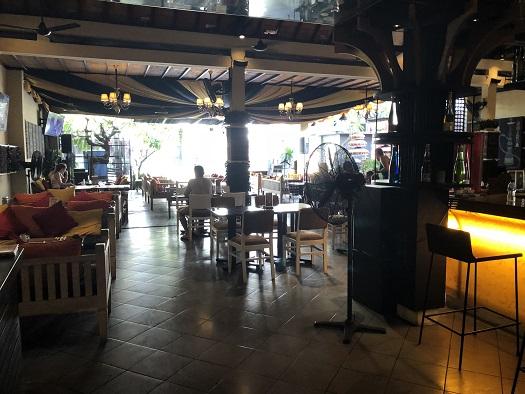 アディジャホテルの朝食会場