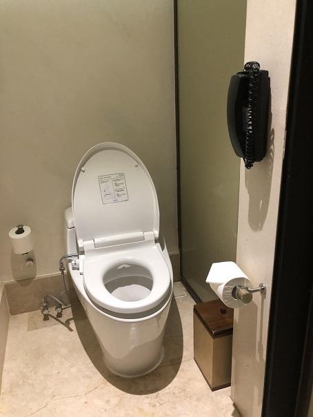 リッツカールトンのトイレ