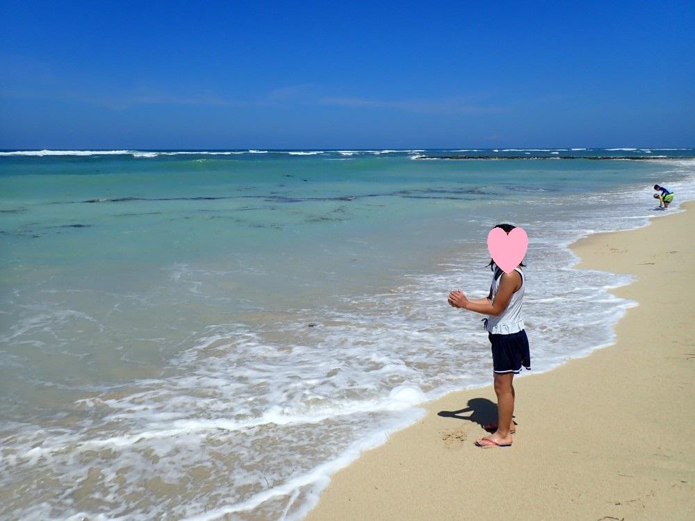 リッツカールトンバリの海
