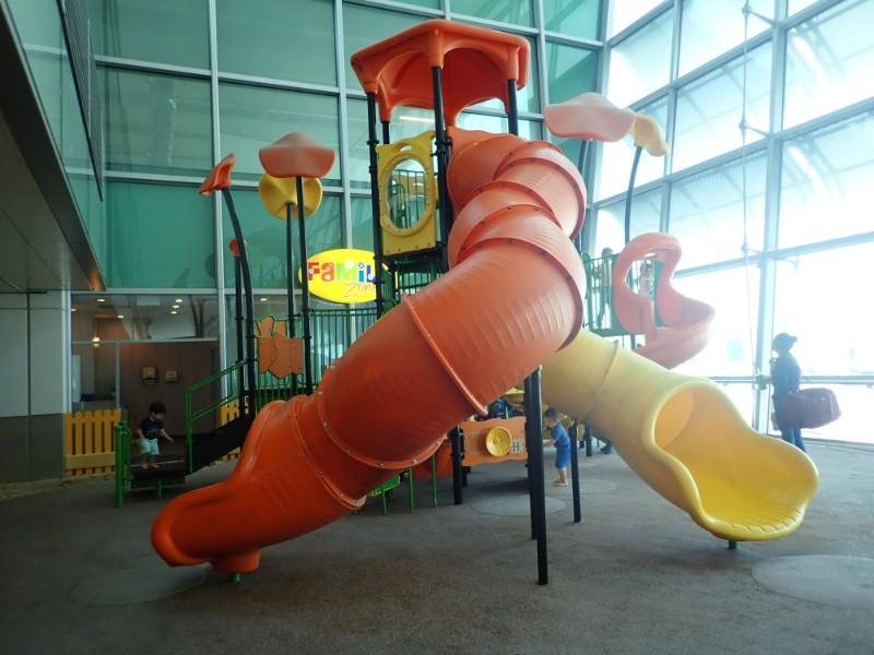 チャンギ空港子供の遊び場
