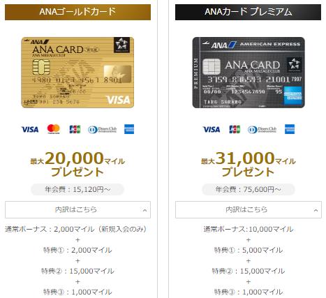 ANAゴールドカードキャンペーン内容