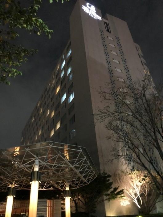 ザ・プリンスホテルさくらタワー東京の外観