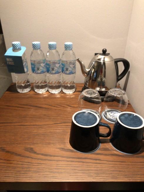 フォーポイントバイシェラトン名古屋の無料の水