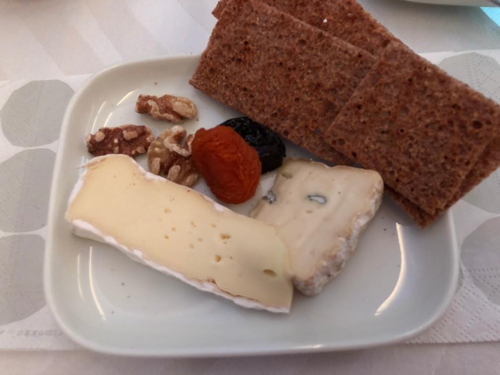 フィンエアービジネスのチーズ