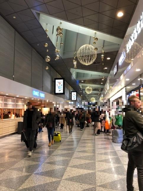 ヘルシンキ空港の様子