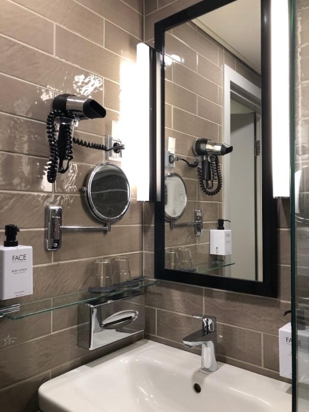 スカンディックロヴァニエミの洗面所