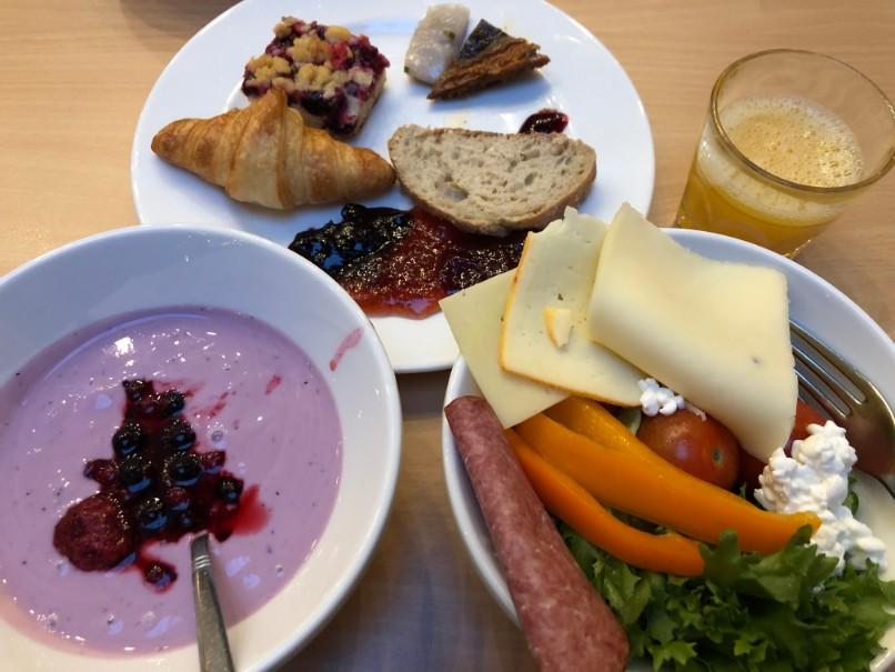スカンディックロヴァニエミの朝食