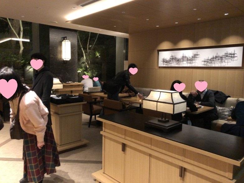 プリンスさくらタワー東京エグゼクティブラウンジのカクテルタイム