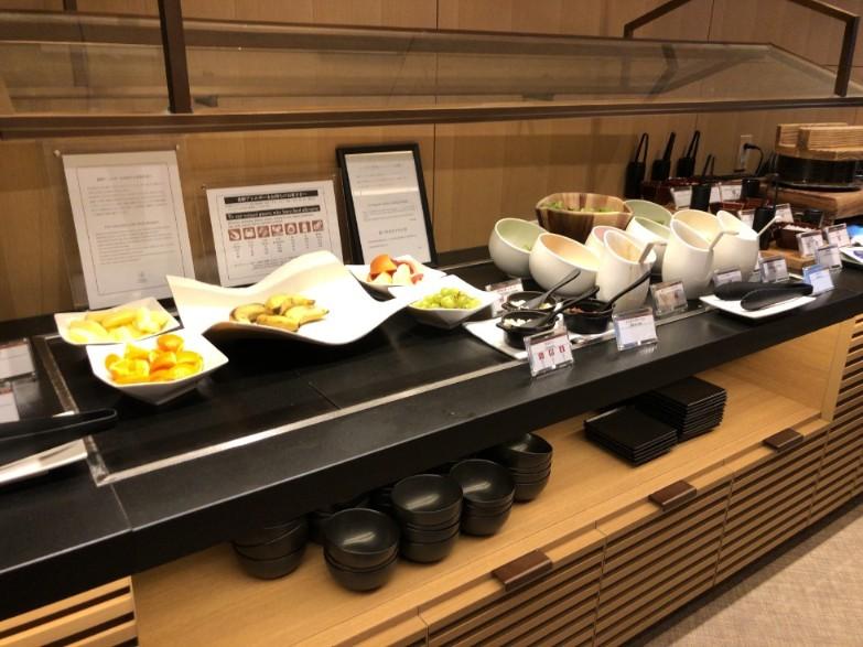 さくらタワー東京のエグゼクティブラウンジ朝食