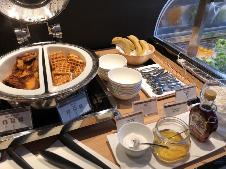 リストランテ カフェ チリエージョの朝食ホットミール