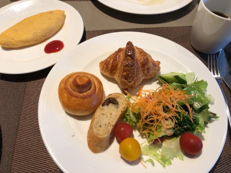 プリンスさくらタワー東京の朝食で食べたもの