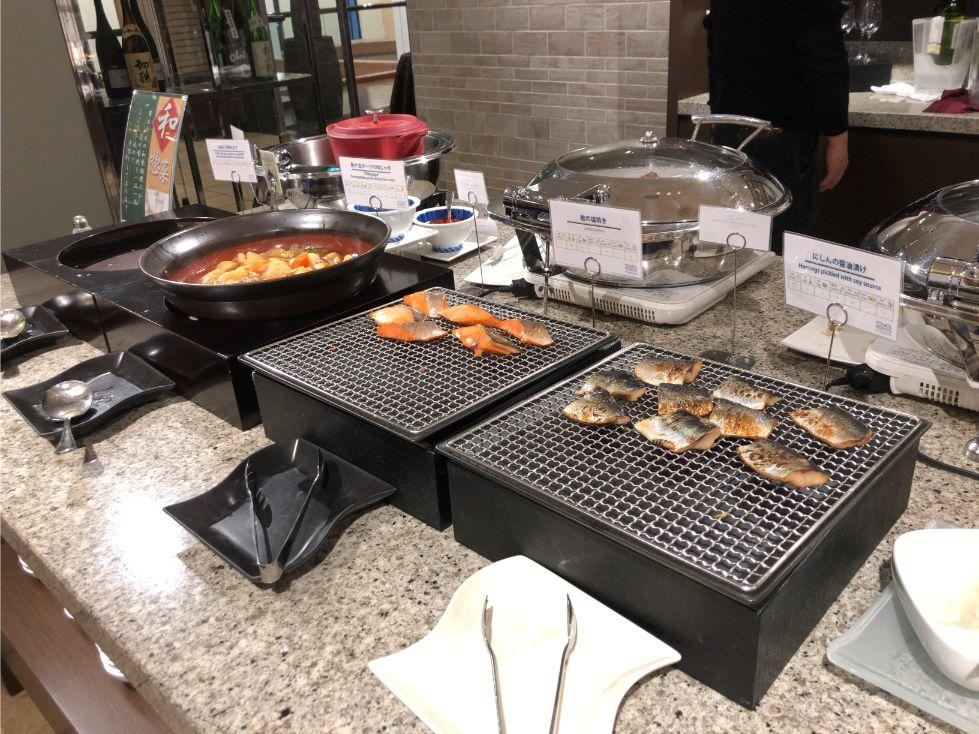 フォーポイントバイシェラトン函館の朝食(おかず)