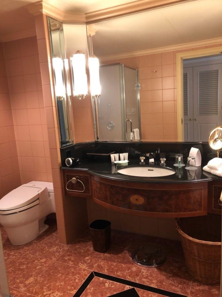 デラックスクラブアクセスルームの洗面所