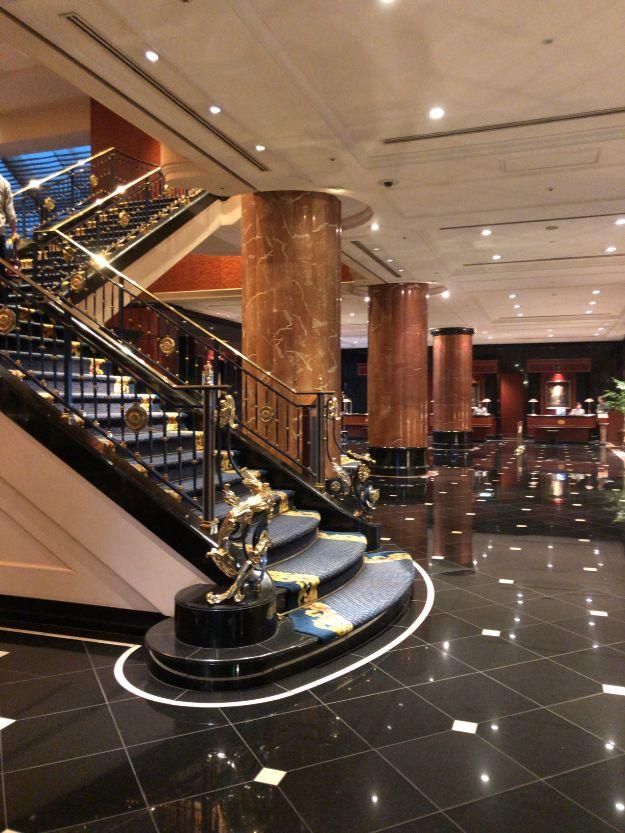 ウェスティンホテル東京ロビー