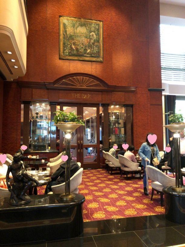 ウェスティン東京一階のザ・バー