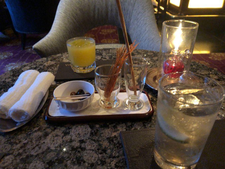 ウェスティン東京ザ・バーで無料でいただけるもの