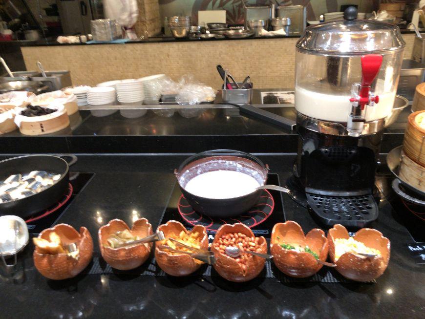 ウエスティン東京「ザ ・テラス」の朝食シリアル