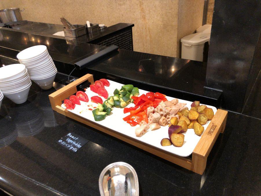 ウエスティン東京「ザ ・テラス」の朝食