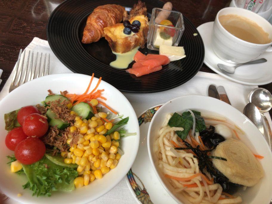 ウエスティン東京「ザ ・テラス」の朝食食べたもの
