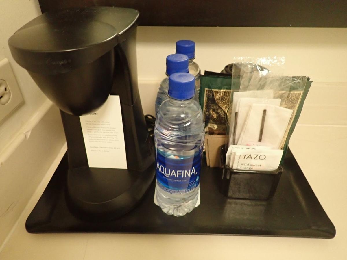 洗面所にあったコーヒーなど