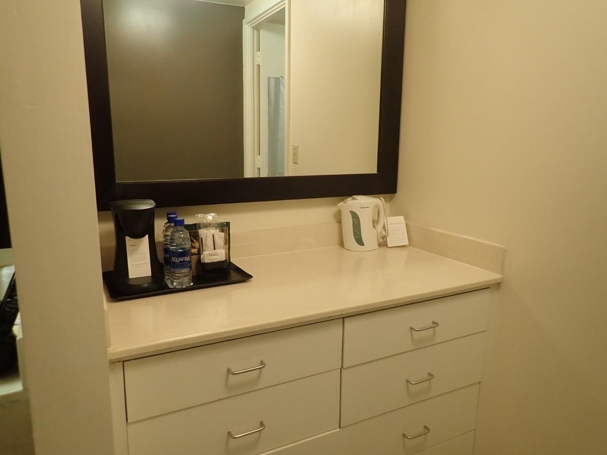 洗面所にある鏡