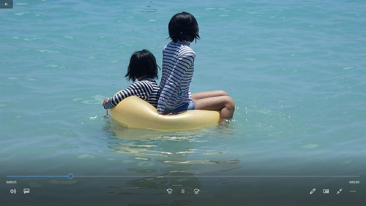 シェラトンワイキキのビーチで浮き輪レンタル