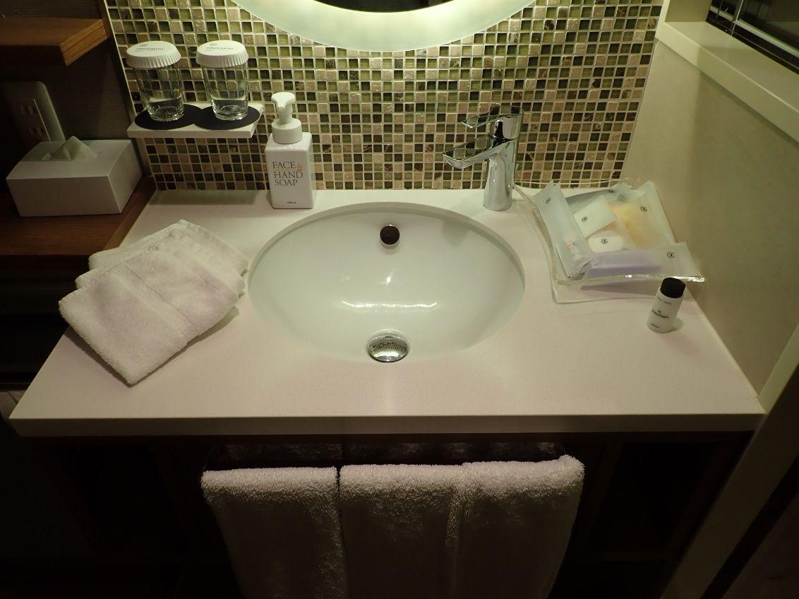 シェラトン沖縄サンマリーナリゾートの洗面台