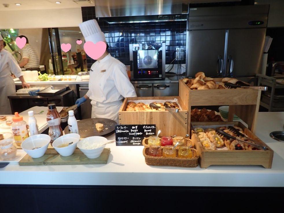 シェラトン沖縄サンマリーナリゾートの朝食パン