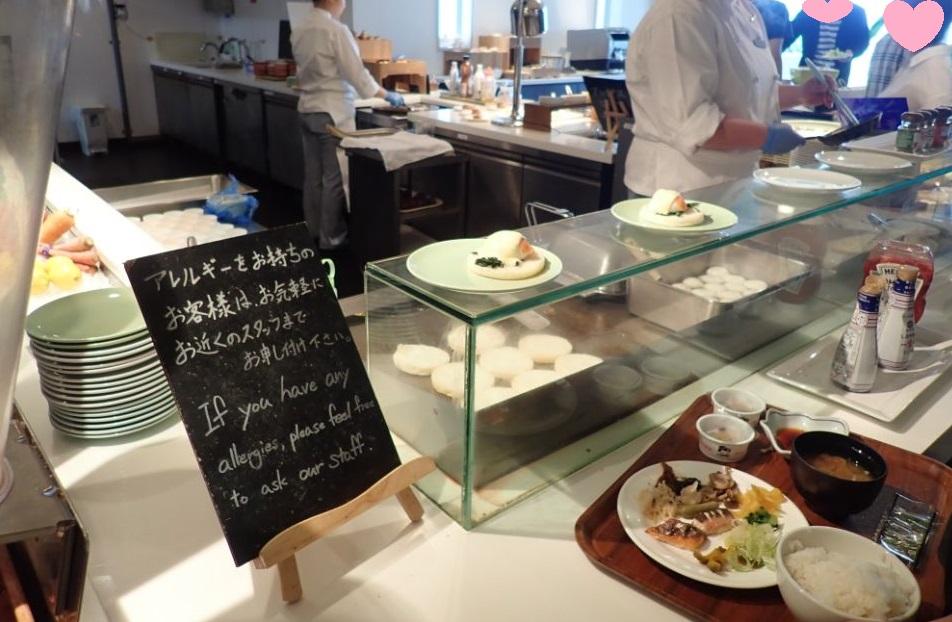 シェラトン沖縄サンマリーナリゾートの朝食オーダー卵料理
