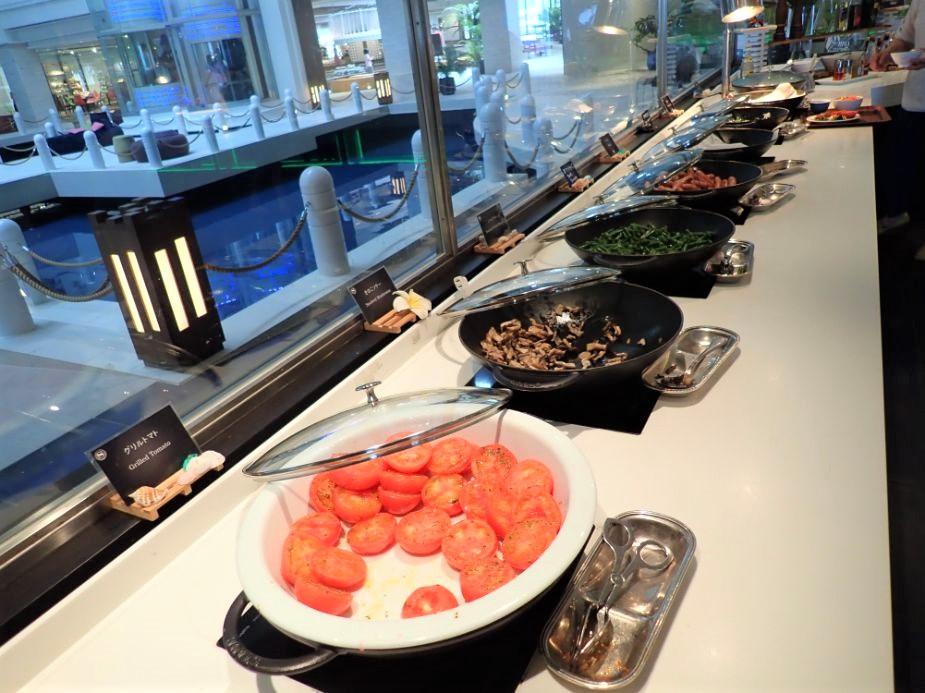 シェラトン沖縄サンマリーナリゾートの朝食ホットミール