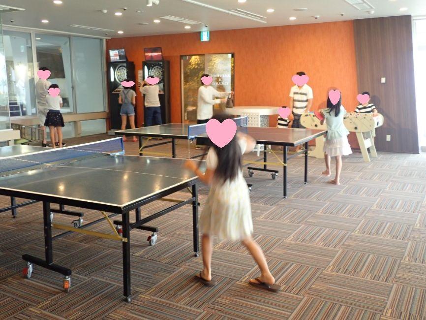 シェラトン沖縄サンマリーナリゾートの卓球