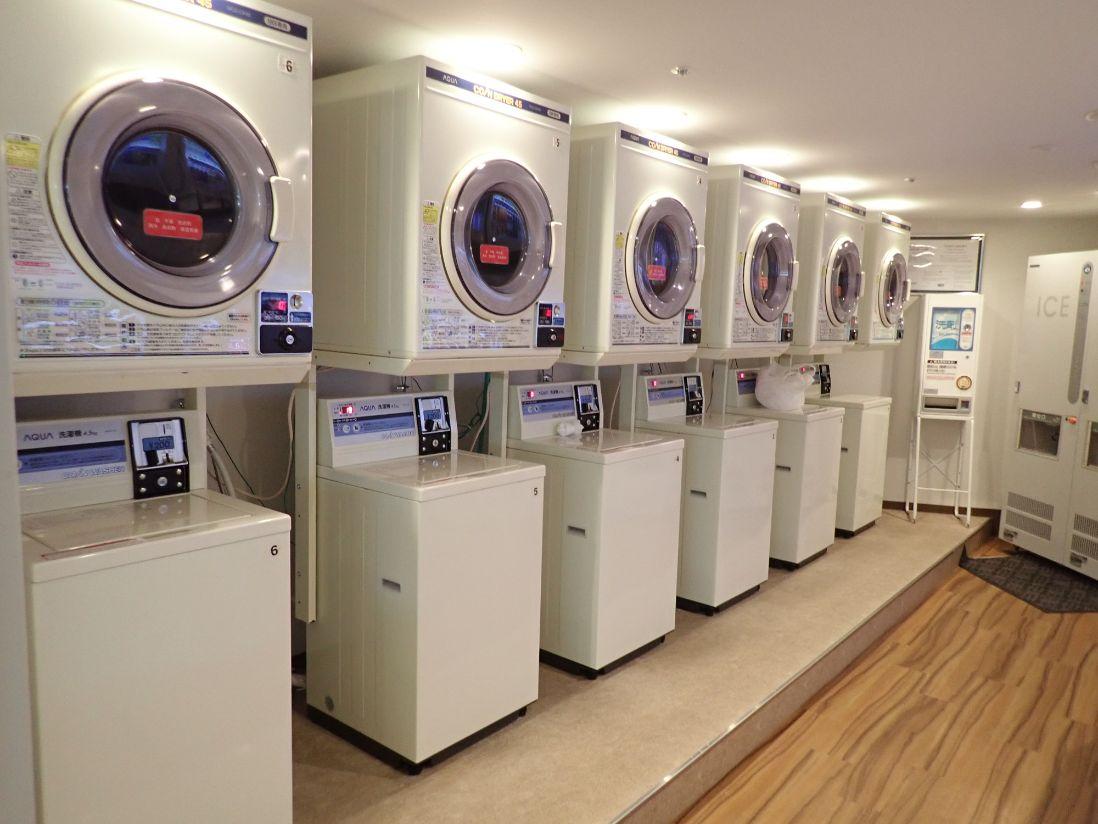 シェラトン沖縄サンマリーナリゾートのランドリー(洗濯機・乾燥機)