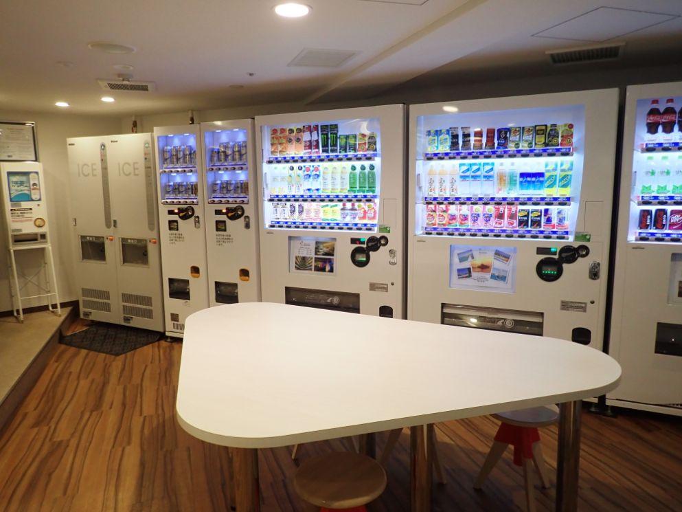 シェラトン沖縄サンマリーナリゾートの自動販売機