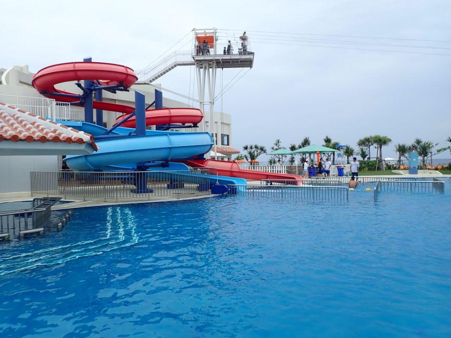 シェラトン沖縄サンマリーナリゾートの屋外ガーデンプール