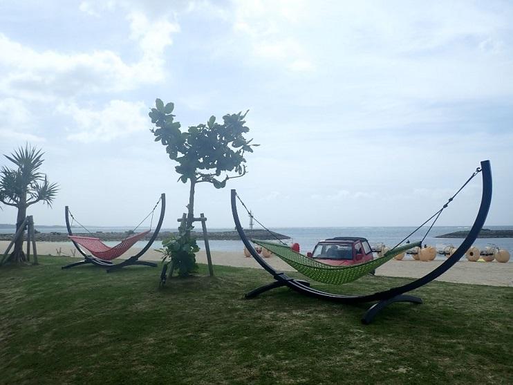 シェラトン沖縄サンマリーナリゾートのハンモック