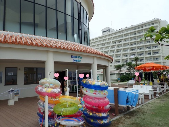 シェラトン沖縄サンマリーナリゾートのマリンアクティビティー