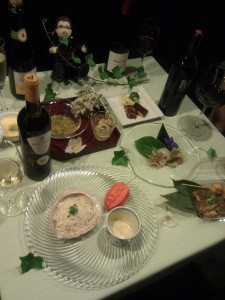 クラヤミ食堂のメニュー