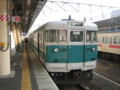 [鉄道]113系電車。和歌山駅にて。