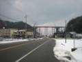 [鉄道]餘部鉄橋、山側から。