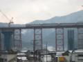 [鉄道]餘部鉄橋を通過する「はまかぜ」