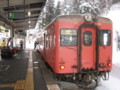 [鉄道]キハ52-156。大糸線、南小谷駅にて。