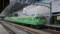 緑一色の113系電車@京都駅