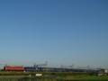 [鉄道]寝台特急日本海。東海道本線、長岡京-向日町。